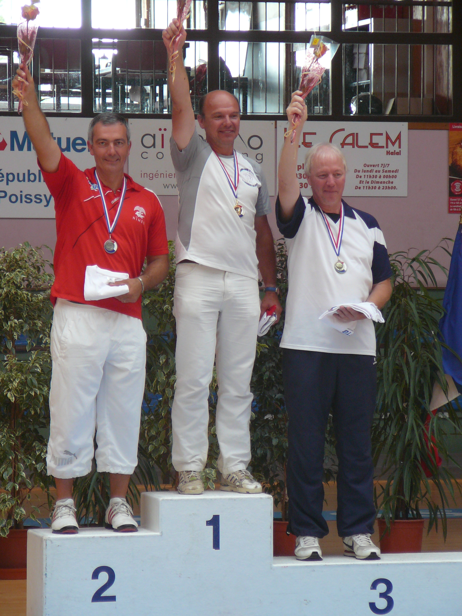 podium france veteran 2014 gerzain