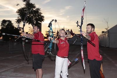 Nîmes Archery International Marrakech 2015