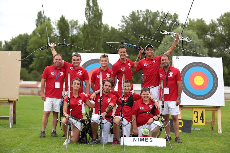 CF Jeunes Vichy 2016 - Crédits FFTA