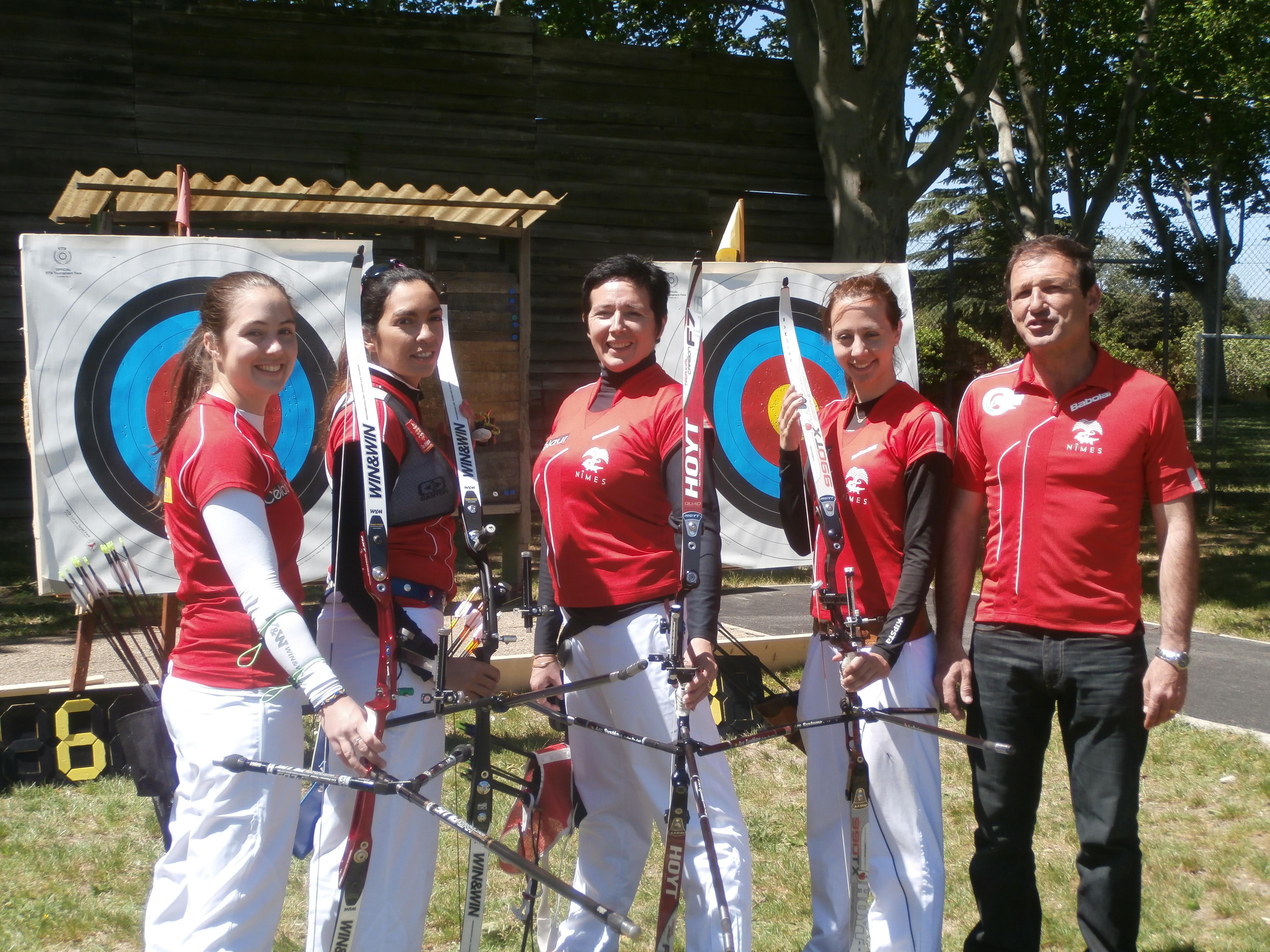 Equipe femmes 2014