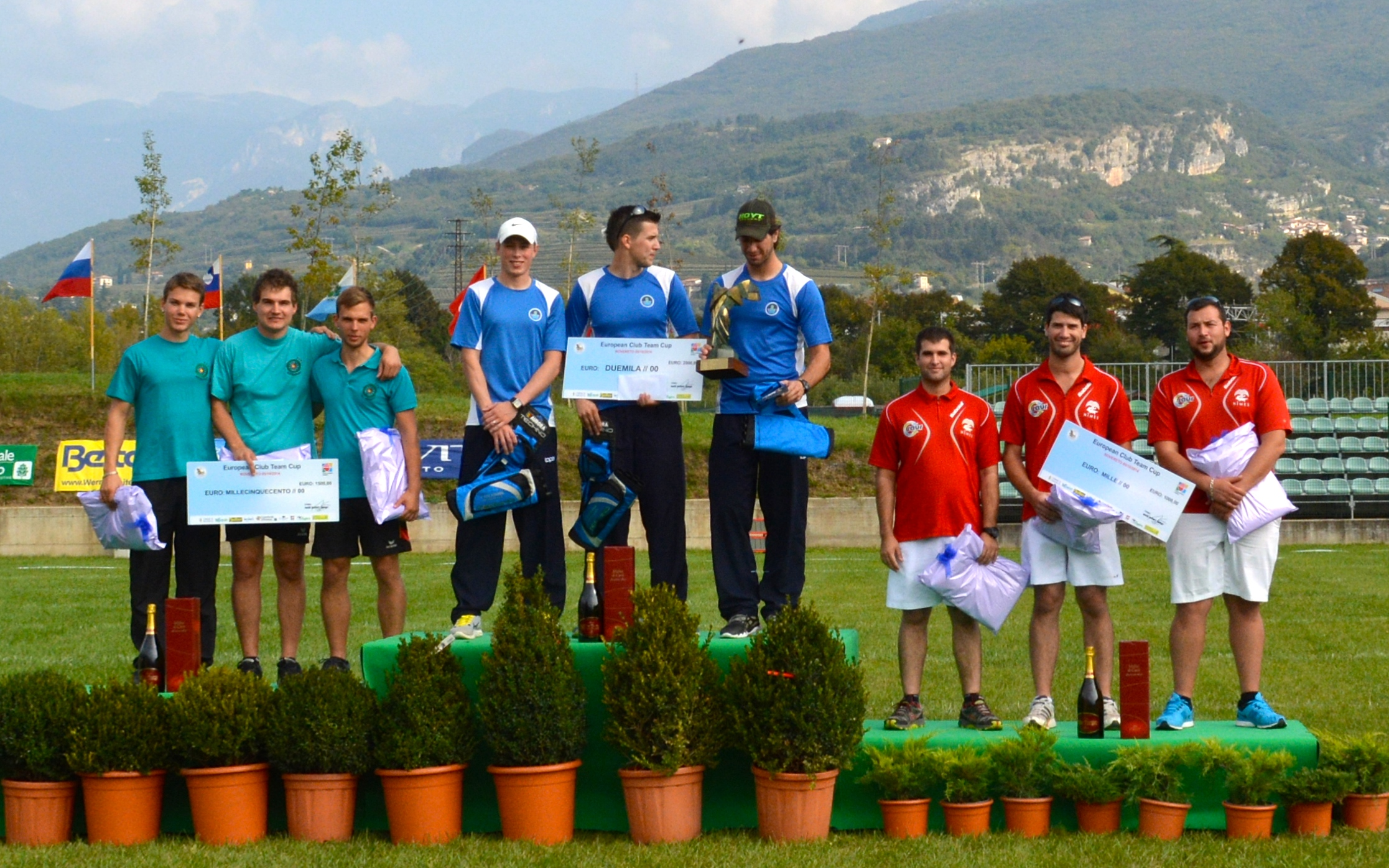 arc club de nmes coupe deurope des clubs 2014