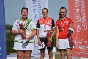 Bronze Lisa Soenen CF Fita - Crédits A.Jimenez