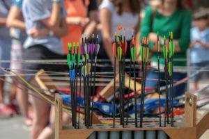 Flèches de tir à l'arc
