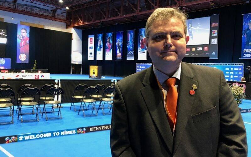 Philippe Michelutti Président de l'arc club de Nîmes